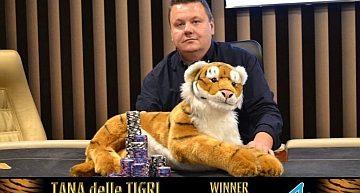 La prima tappa del Tana delle Tigri ad Olomouc se l'aggiudica René Siry