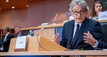 """Breton, Commissario Ue al Mercato Interno: """"Per ora non ci sono le condizioni per una regolamentazione unica sul gioco d'azzardo"""""""