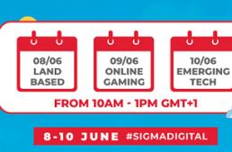 Il gruppo SiGMA ha annunciato le date del SiGMA-ICE Asia Digital