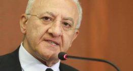 Campania: De Luca chiede protocollo per riaperire le sale giochi dal 15 giugno