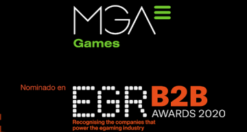MGA Games nominata finalista per gli EGR B2B 2020 Awards per la categoria Innovation Mobile